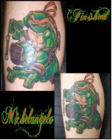Michelangelo FINISHED by Shadowtat