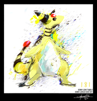 Ampharos!  Pokemon One a Day, Series 2!