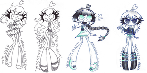 Song Drawings by Chr-ali3