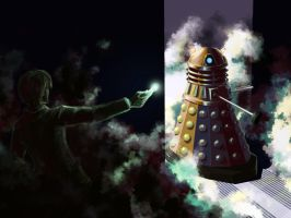 Dalek on the way by sunngrid