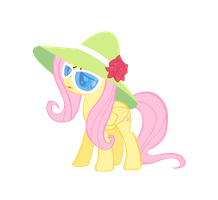 FlutterShy Vector by AB-Anarchy