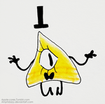 Bill Cipher by Amphibizzy