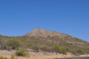 Tucson mountain peak by we-are-the-remnants