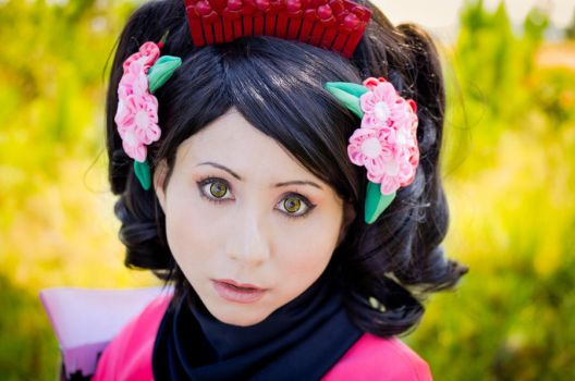 The gentle side of Momohime by andyamasaki