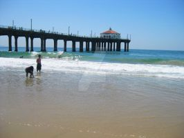 Manhattan Beach Pier by ShipperTrish