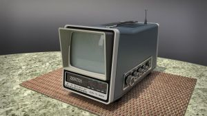Zenith Portable TV by unigami