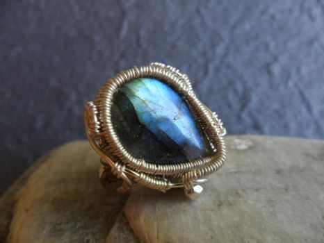 Skytear - Adjustable Ring by Carmabal