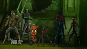 Web Warriors (Cropped) by xxxanonymous