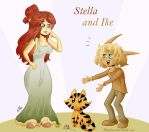 Stella and Ike: Contest Entry by Elisa-J7B