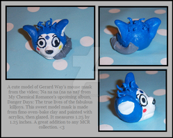 Gerard Way's Mouse Mask Model by mollysayshi