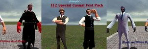 TF2 Special Casual Vest Pack by Noerusan
