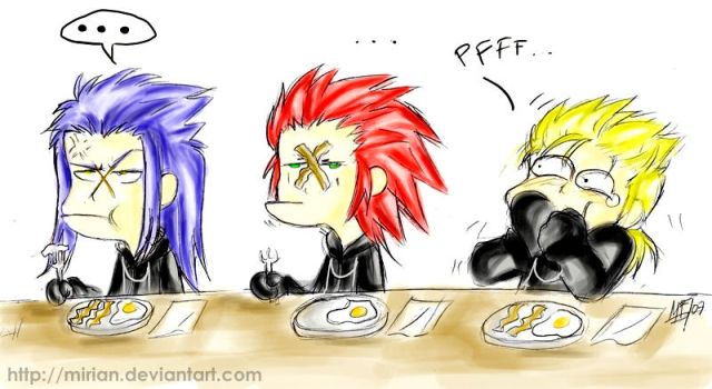 KH2 - Organization Breakfast by Mirian