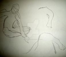 Gesture Drawings 8 by Jennawinsatart
