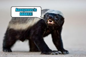 Honey Badger Says by Attani