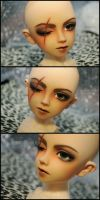 Face-up+Scar: Volks Cecile The Scarface - 2 by asainemuri