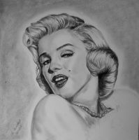 Marilyn Monroe by WitchiArt