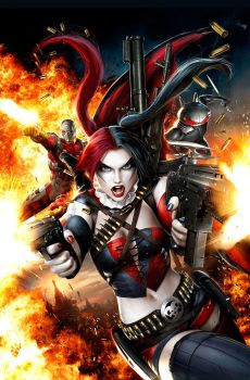 New Suicide Squad 4 by JPRart