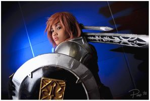 Lightning from FFXIII by emptyfilmroll