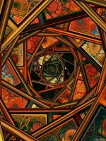 A trip into stained glass by IDeviant