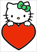 Hello Kitty coloring page 1 by YukiAtem12