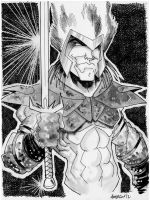 Sketch 070 of 100 BEOWULF from Re:Gex by misfitcorner