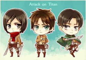 Attack on Titan by Radittz