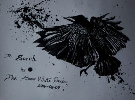 A Raven for Sarah by zzSnowWhiteQueenzz
