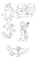 Rising to the Challenge - Sketchdump by Shinkoryu14