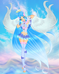 CE-Kailani Keix-between water Power and holy Magic by WildEnchantress