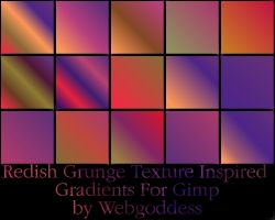 Reddish...Inspired Gradients by webgoddess