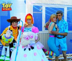 Toy Story Cosplay 4 Group by Hikarulein