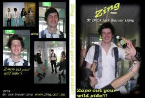 Zing DVD Cover by JXViper