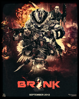 BRINK 2 Ad Poster by ShahiThaKilla