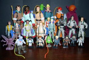 Ghostbusters Figures by CyberDrone