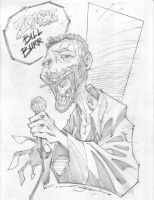 Zombie Bill Burr by StevenSanchez