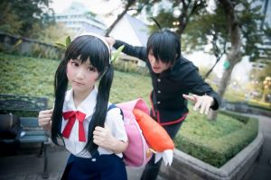 bakmonogatari hachikuji mayoi cosplay by minimumdes