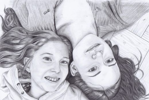 Me and my little sister by paletan