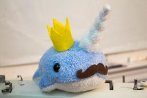 King Narwhal by BeeZee-Art