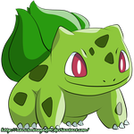001: Bulbasaur Shiny by NarutoRenegado01