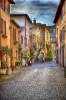 Streets of Orvieto by CitizenFresh