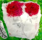 Red Rose Brusho by 1996Courtney2011