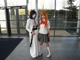 Ulquiorra and Orihime by kunoichi-me