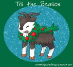 Tis the Season Skiddo by Midnightwolf13