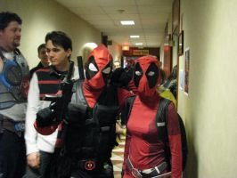 Deadpool and Lady Deadpool ( Me) by Sinta54