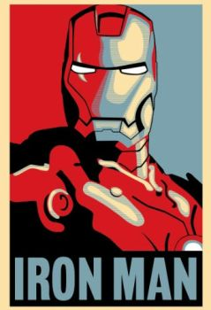 Iron Man Hope Poster PDF-Download by Vectorix