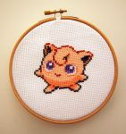 Jigglypuff Cross Stitch. by ElizabethParkin
