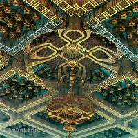 The design of  the ceiling by lady-AquaLena