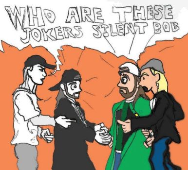 Jay and silent Bob meet Jay and Silent Bob by Number1Exile