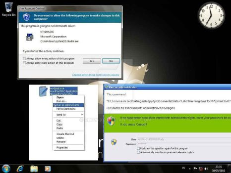 Vista and Windows 7 UAC for XP by Rudy-XP