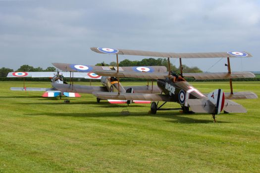 Biplane, Triplane and Sesquiplane by Daniel-Wales-Images